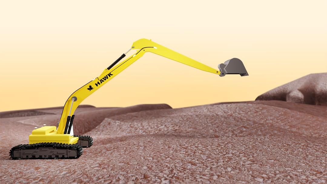 hawk-long-reach-extended-excavating